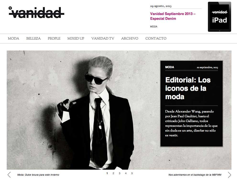 Spain Vanidad Magazine