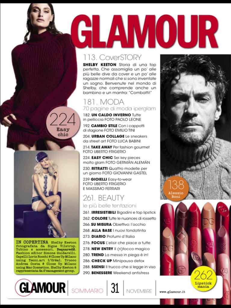 Glamour Mag Italy