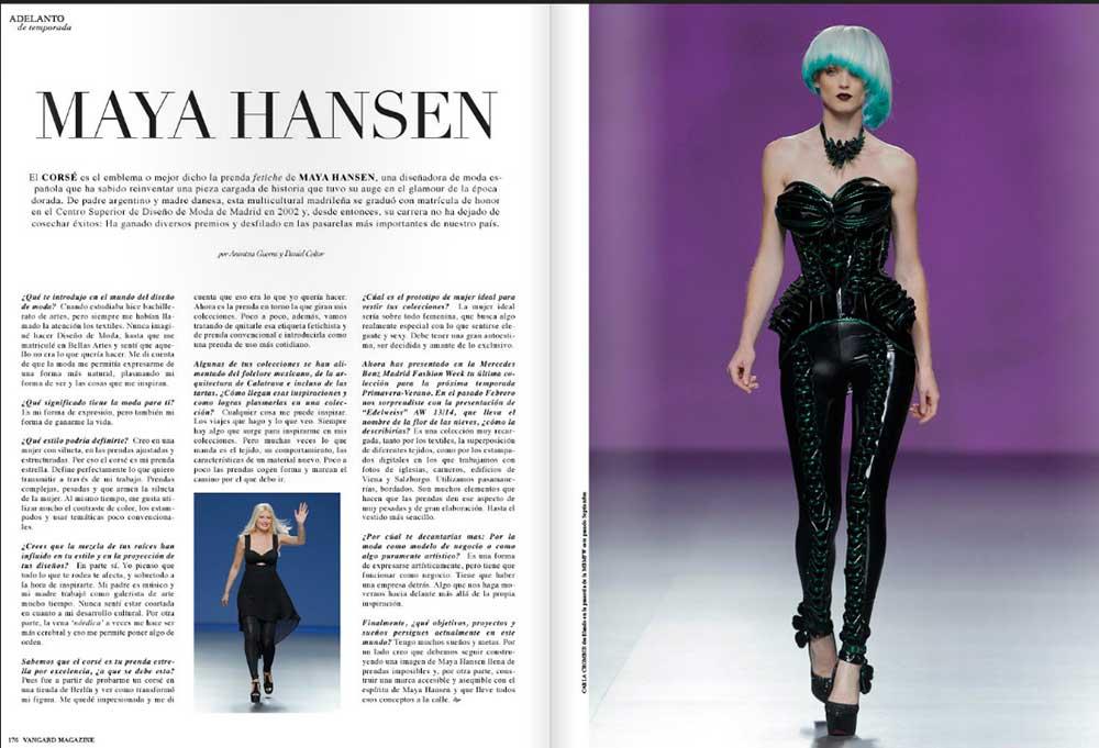 Designer Maya Hansen FWMB Spain