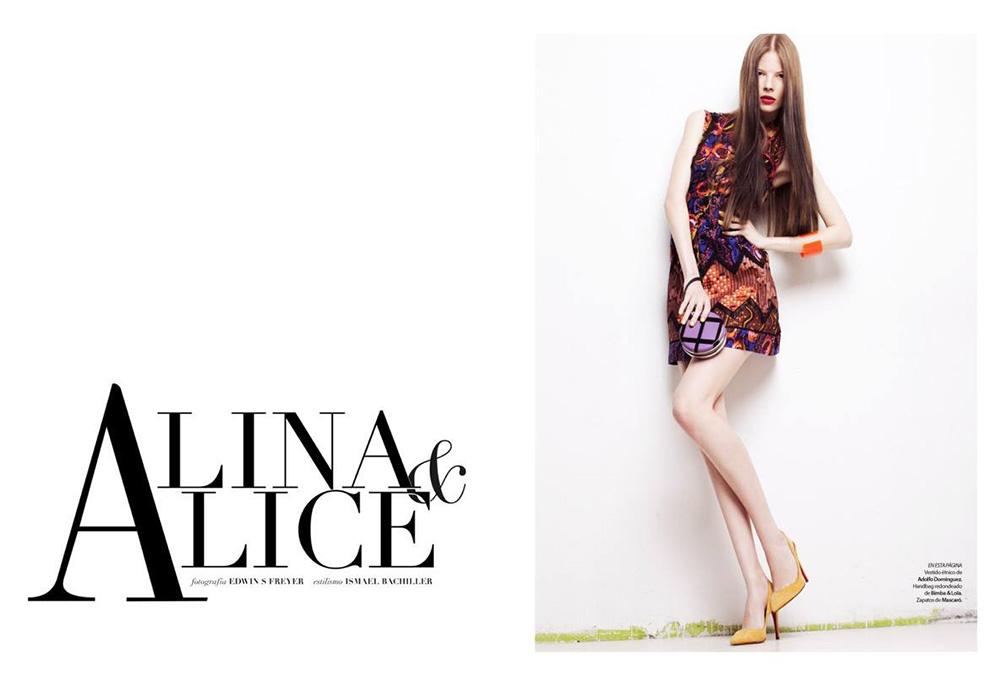 Alina & Alice Editorial